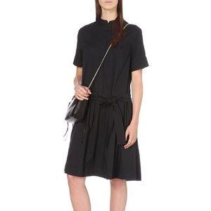 Allsaints Cotton Abel Dress in Ink Size 10